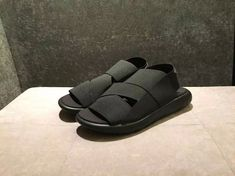a0eb157ce Adidas 2017 new Yohji Yamamoto Y3 sandals black warrior men and women  couple models