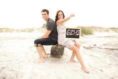 great beach save the dates