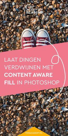 Laat dingen verdwijnen met de functie Content Aware Fill in Photoshop! Kijk maar eens hoe goed Photoshop hier de voeten uit de foto heeft gehaald en de onderliggende ruimte heeft opgevuld. Super knap! Nu is dit misschien niet een toepassing waarin je de bewerking zou gebruiken, maar het kan natuurlijk wel heel handig zijn. In het (Nederlandse) artikel staan meer tips wanneer deze Photoshop bewerking onmisbaar is! #fotobewerking