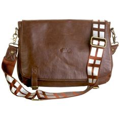 Amazon.com: Chewbacca Messenger Bag (Standard): Sports & Outdoors ($87) ❤ liked on Polyvore featuring bags and starwars