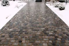 Radiant heated driveway with pavers permeable and needs no salt a heated driveway foils snows attempts to accumulate photo courtesy of angies list member janett d of carmel ind plus i love this driveway solutioingenieria Image collections