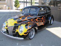 1940 Ford tudor  by bballchico, via Flickr