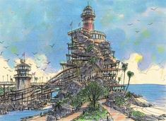 DRAWING FOR THE LIGHT HOUSE, Takanori Aiba