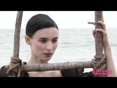 Behind the Scenes: Rooney Mara by Michael Thompson for Allure January 2012 - YouTube