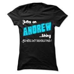 (Tshirt Nice Produce) It is ANDREW Thing 999 Cool Name Shirt Discount 20% Hoodies, Tee Shirts