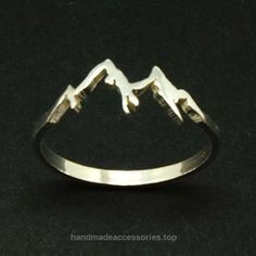 US 7″ Handmade Silver Sterling Silver Mountain Range Ring  Check It Out Now     $42.00    Base Material: Sterling Silver Size: US 7 Size: 15mm X 7mm Metal Stamped: 925 It comes along with a nice classic jewe ..  http://www.handmadeaccessories.top/2017/03/17/us-7-handmade-silver-sterling-silver-mountain-range-ring/