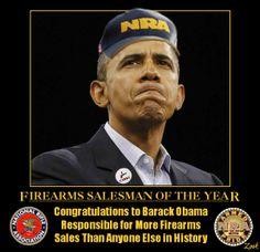 Firearms salesman of the year!