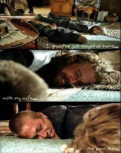 Opie Winston and Jax Teller. Sons of Anarchy season 4 - this was a funny scene lol