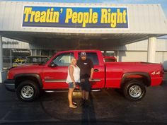 Congratulations Darrell & Tamara Cravens on the purchase of your 2004 Chevrolet Silverado 2500. We appreciate your business & friendship.