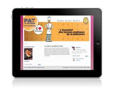 Confédération Pâtissiers de France. Site web www.patlepatissier.com : les bonnes pratiques d'hygiène, santé et économies d'énergie.
