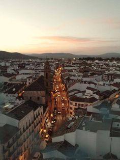 #Antequera desde la Torre de San Sebastián