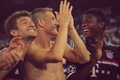 Thomas, Basti, David