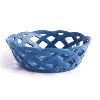 temp-tations® Round Stoneware Bread Basket