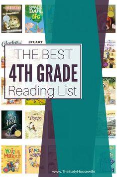 Fourth Grade Reading List | 25 Books Your Child Will Devour