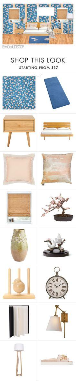 """""""Cherry bedroom"""" by silvia-esvicode on Polyvore featuring interior, interiors, interior design, Casa, home decor, interior decorating, PiP Studio, Dot & Bo, La Perla e Aviva Stanoff"""