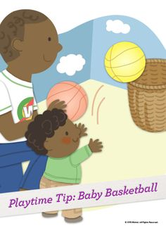 A great game for babies and toddlers, Baby Basketball helps develop eye/hand coordination and gross motor skills, encourages a sense of achievement, and most importantly, it's fun! #Playtime #Activity
