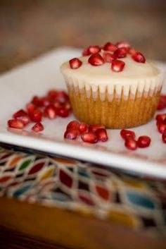 Pomegranate Mojito Cupcake by Cupcake Project