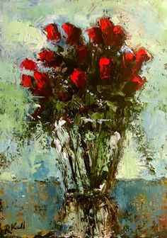 DPW Fine Art Friendly Auctions - Roses by Bob Kimball
