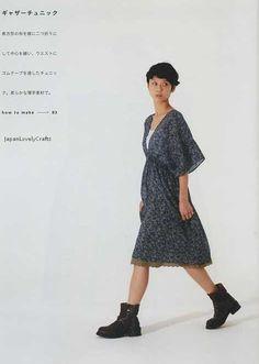 Easy & Kawaii Straight Sewing by Yoshiko Tsukiori - Japanese Pattern Book for Women - B1044. $22.00, via Etsy.