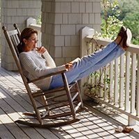 Extreme fatigue affects about 80 percent of people with multiple sclerosis. Find out how MS-related fatigue, or lassitude, can be managed. Fatigue Causes, Chronic Fatigue Syndrome, Chronic Illness, Chronic Pain, Rocking Chair Covers, Blue Distressed Furniture, Desk Chair Comfy, Desk Chairs, Porch Glider
