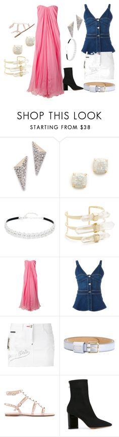 """Stylish queen..."" by jamuna-kaalla ❤ liked on Polyvore featuring Alexis Bittar, Kate Spade, Kenneth Jay Lane, Alexander McQueen, STELLA McCARTNEY, Philipp Plein, Dolce&Gabbana, Valentino, Maison Margiela and vintage"