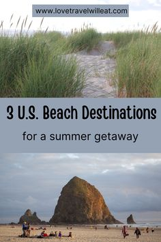 The USA has plenty of beaches to choose from whether you want to head to the West Coast, Southern States, or Eastern seaboards. Beach Destinations that are best to enjoy during the summer and make for a perfect little getaway. Usa Travel Guide, Travel Usa, Travel Guides, Travel Tips, Travel Logo, Travel Checklist, Travel Hacks, Travel Packing, Travel Essentials