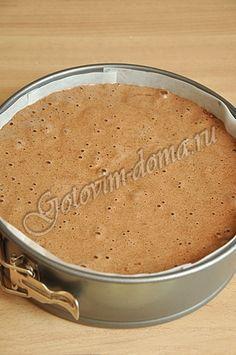 Генуэзский бисквит (шоколадный)
