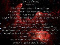 Tao Te Ching 50