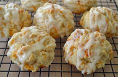 Cheddar Apple Biscuits | sweet biscuits good any time of day | www.SimplySouthernBaking.com