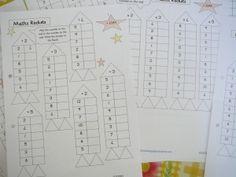 Muchos imprimibles gratuitos para practicar las matematicas. En esta web hay muchos mas de otros temas