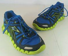 REEBOK Zigtech Women's Athletic Running Training Shoes Sneaker Sz 6.5 Blue Green #Reebok #RunningCrossTraining