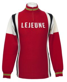 658f0cd54 LEJEUNE LE JEUNE LS VINTAGE RETRO CYCLING JERSEY MAILLOT CYCLISTE EROICA  (NOS)