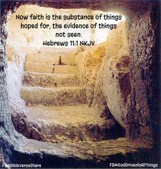 We may not see His plan. Nor will we always understand it. But we must TRUST what that plan holds!
