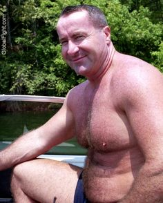 very hot handsome daddies driving boats fishing mens pictures