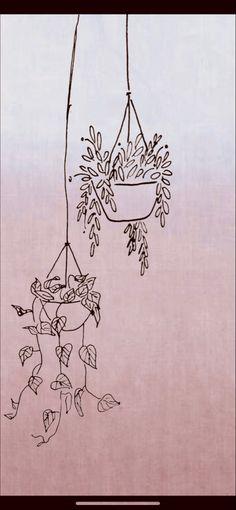 Hanging Plant Iphone Wallpaper