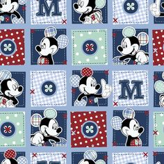 Browse Disney Mickey Plaid Dots Patch Cotton Fabric, and more of our Licensed Cotton Prints. Shop our huge selection of thread and fabric, enjoy savings with sales and coupons!