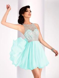 Homecoming Dresses Short flowy open back pastel mint homecoming dress, sweet sixteen dress Mint Homecoming Dresses, Grad Dresses Short, Prom Dresses Two Piece, Hoco Dresses, Pageant Dresses, Formal Dresses, Short Prom, Dress Prom, Sweet Sixteen Dresses