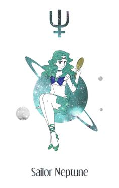 Sailor Neptune by Mangaka-chan.deviantart.com on @deviantART