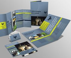 Brochuras, catálogos e folders de vários tipos e estilos para você design gráfico se inspirar. (22)