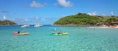 St Martin Kayak Rental to Pinel Island 2019 - Grand Case Kayak Rentals, Island Nations, Canoe And Kayak, Adventure Awaits, Snorkeling, Beautiful Beaches, Kayaking, Caribbean, Places To Go