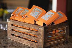 Wedding Accessories Beer Coozies #storybookweddings