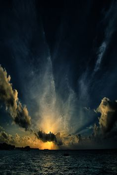 """Knocking On Heavens Door,"" Maldives Baa Atoll Photography by Dietmar Rogacki"