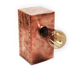 Copper Block Leuchte - alt_image_one
