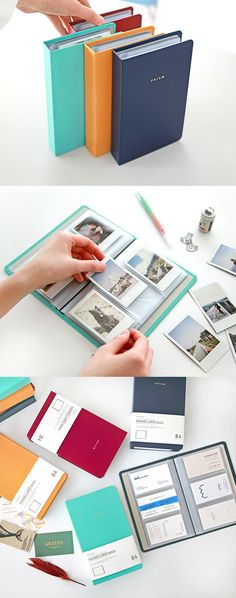 Organize your important business cards with the Prism Business Card Book!