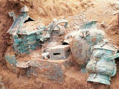 The tomb belongs to the Zhou Dynasty of 1046 BC - 771 BC, and the liquid is likely to be the oldest wine discovered in China, project leader Liu Jun, director of the Baoji Archaeology Institute said.