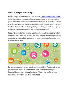 What is Target Marketing Digital Media Marketing, Advertising Services, Planning, Dubai, Target, 3d Animation, Space, Business, Globe
