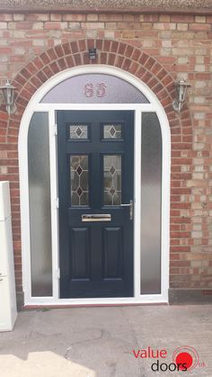 Stunning Solidor arched door in anthracite grey #solidor #archeddoor ...