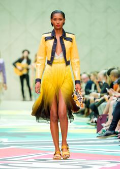 BURBERRY PRORSUM SPRING SUMMER 2015 WOMEN'S COLLECTION | The ...