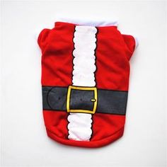 Autumn Winter Chrismas Puppy Vest Clothing Cartoon Dog Clothes Costumes for Small Dogs Pet Cat Coat Jackets Chihuahua Pug Outfit Suministros de mascotas