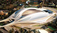 Zaha Hadid Stadium - Tokyo [Japan] http://www.guardian.co.uk/sport/2012/nov/15/british-architect-design-japan-stadium#